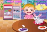 Baby Hazel Pet Care game
